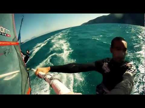 Windsurfing @ Vassiliki, Lefkada! Filmed with GoPr
