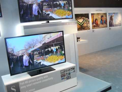 Panasonic Booth at 2013 International CES