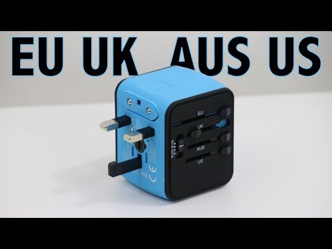 Best All-in-One International Power Adapter Review - EU - UK - AUS - US | Iron-M