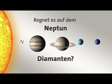Regnet es auf dem Neptun Diamanten?
