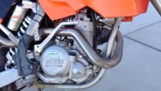 3. 2005 KTM 450 MXC - Street legal