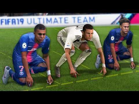 FIFA 19 Speed Test | Who is the fastest player in FIFA 19?