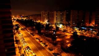 Valencia a través de la ventana - Time Lapse -