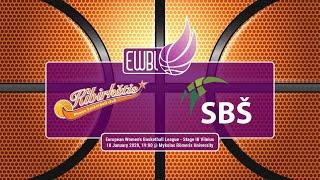 Kibirkstis-MRU – SBS Ostrava – EWBL 2019/20