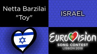 "Video TessHex Reviews: ""Toy"" by Netta Barzilai (Israel) MP3, 3GP, MP4, WEBM, AVI, FLV September 2018"