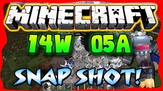 Minecraft Snapshot 14w05a: Game Mode 3, Spectator&Naked Blocks!