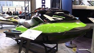 4. 2017 Sea Doo GTR-X 230 Jet Ski - Walkaround - 2017 Montreal Boat Show