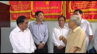 Tổng Bí thư Ban chấp hành TW Đảng Nguyễn Phú Trọng về thăm và làm việc tại thành phố Uông Bí
