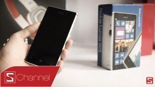 Schannel - Mở hộp Lumia 925 chính hãng - CellphoneS