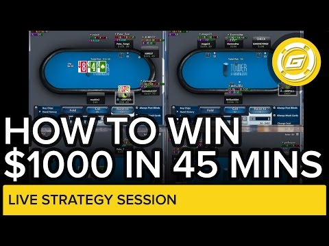 Online poker – How To Win Over $1000 In 45 Minutes