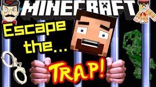 Minecraft THE TRAP! Can You Escape?