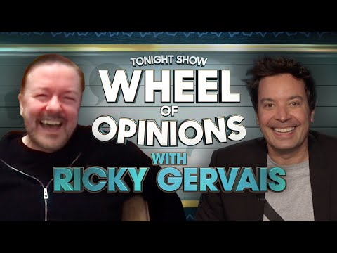 Wheel of Opinions with Ricky Gervais