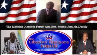 Liberian Diaspora Forum with Hon Dan Morais