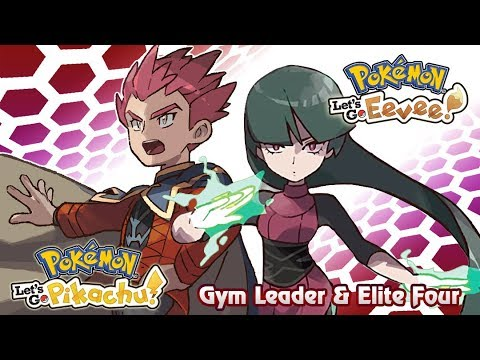 Pokemon Let's Go Pikachu & Eevee : Gym Leader/Elite Four Battle Music (GR)