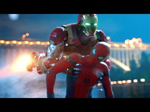 Iron Man Saves Spider-Man - Spider-Man: Homecoming (2017) Movie CLIP HD