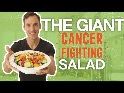 la ricetta completa dell'insalata mista anti-cancro