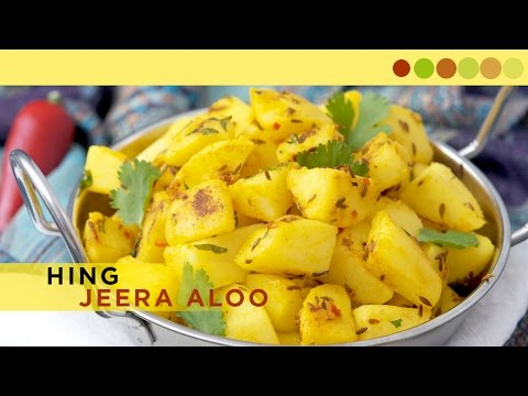 Hing Jeera Aloo | Potato Fry With Asafoetida | Chef Atul Kochhar