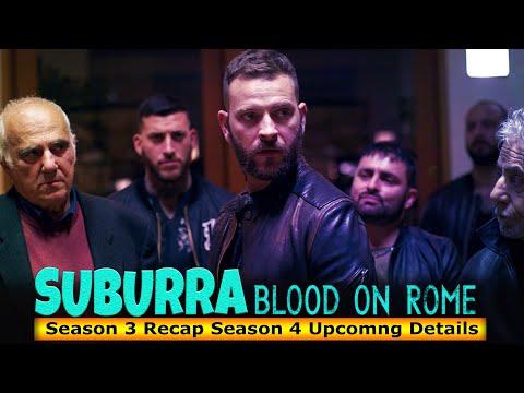 Suburra Blood On Rome Season 3 Recap Season 4 Upcomng Details - Release on Netflix