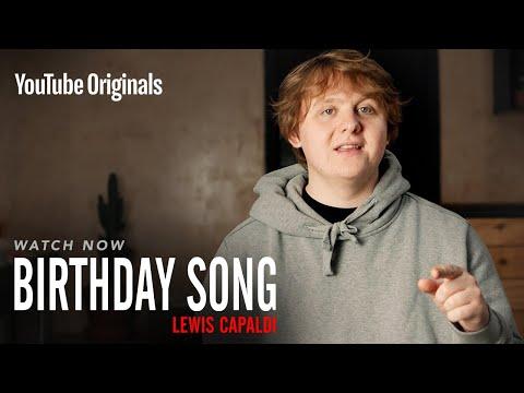 Birthday Song Lewis Capaldi   YouTube Originals видео