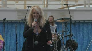 "Bonnie Tyler sings her 1983 hit ""Total Eclipse of the Heart"" on board a cruise ship during the 2017 solar eclipse. Video courtesy: ..."