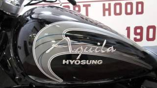5. 2013 Hyosung Aquila GV250  New Motorcycles - Harker Heights,Texas - 2015-10-02