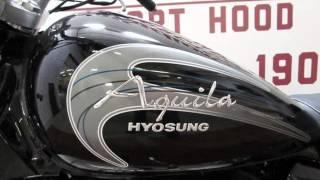 8. 2013 Hyosung Aquila GV250  New Motorcycles - Harker Heights,Texas - 2015-10-02