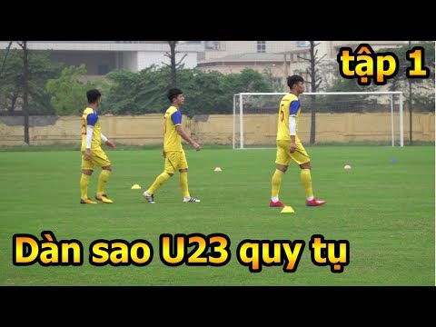 Thử Thách Bóng Đá đi xem Quang Hải , Bùi Tiến Dũng , Đình Trọng và U23 Việt Nam tập luyện phần 1 - Thời lượng: 10:25.