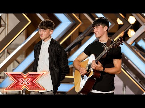 Brothers Sean and Conor Price wow with Along the Watchtower | Auditions Week 3 | The X Factor 2017_TV műsorok. Heti legjobbak