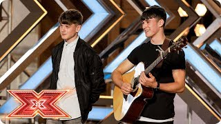 Download Lagu Brothers Sean and Conor Price wow with Along the Watchtower | Auditions Week 3 | The X Factor 2017 Mp3