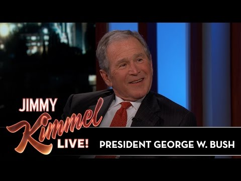 President George W Bush Reveals If Impressions Bothered