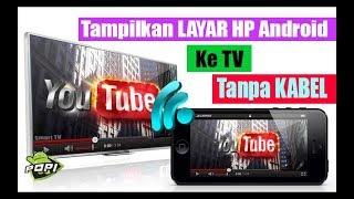 Video Cara Menghubungkan Layar Hp Ke TV TANPA KABEL MP3, 3GP, MP4, WEBM, AVI, FLV Desember 2018