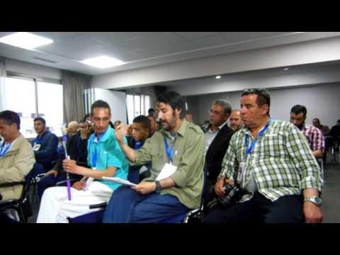 مداخلة الصحفي خالد ديمال بالرباط خلال الندوة الخاصة بالمنتدى الدولي للمدن العتيقة