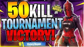 50 KILLS IN A TOURNAMENT MATCH!?! Tournament Highlight #25 (Fortnite Battle Royale)