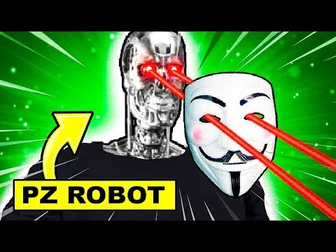 PROJECT ZORGO ROBOTS WILL TARGET YOUTUBERS!!   PROJECT ZORGO IS CREATING ROBOTS!