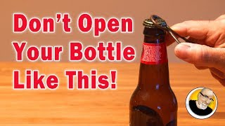 """Open your bottles this cool new way! Thanks to Thumbtack for supporting my show! http://www.thumbtack.comDid I say """"One and seven eighths""""?It was actually one and three quarters. My badPrevious Video: http://bit.ly/DIYHomeSecurityNext Video: Coming Soon!---------------------------Popular Playlists----------------------------LASERS: http://bit.ly/LaserProjectsEASY: http://bit.ly/EasyProjectsHACKS/MODS: http://bit.ly/HacksModsMore videos at: http://www.kipkay.comSubscribe to Kipkay: http://bit.ly/SubscribetoKipkayFollow on Instagram: https://www.instagram.com/kipkayvideos/Follow on Twitter: https://twitter.com/KipKayFacebook: https://www.facebook.com/KipkayVideosFor business and sponsorship inquiries, contact me at videos@kipkay.com"""