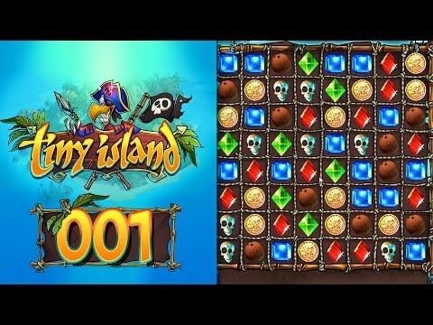Tiny Island: #001 - Kostenloses Bejeweled Browsergame ...