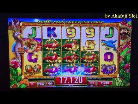 First Attempt★CHILLI GOLD Slot Machine Max Bet $3.20, San Manuel Casino, Akafujislot