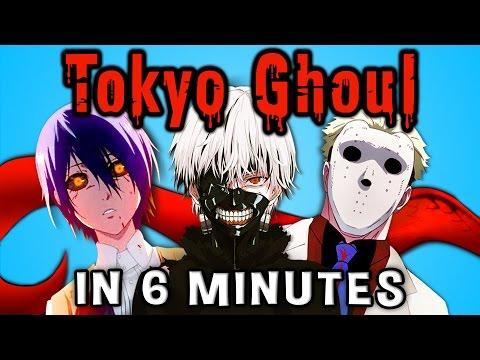 TOKYO GHOUL IN 6 MINUTES!