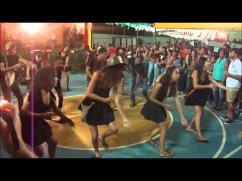 Apresentação no Juventude Fest 2014 em Biritinga- Diocese de Serrinha