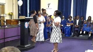 TLPCI Area choir song ministration-Hallelujah