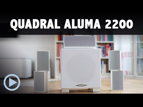 Quadral Aluma 2200 5.1 Lautsprecher Set / Heimkinosystem Test Dolby Surround