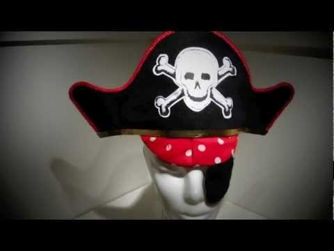 Moldes de gorros de pirata - Imagui