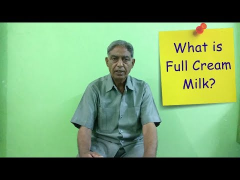 What Is Full Cream Milk And Who Should Drink It?  (Hindi)