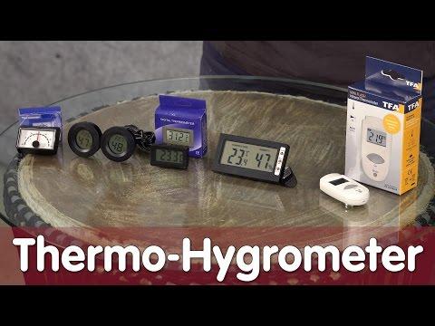 Reptil TV - Technik - Thermo-Hygrometer