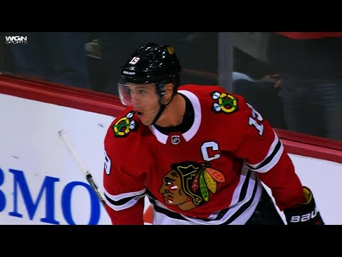 Video: Kane to Toews, Blackhawks win nine seconds into overtime