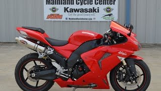 10. $5899: For Sale 2007 ZX10R Ninja Red