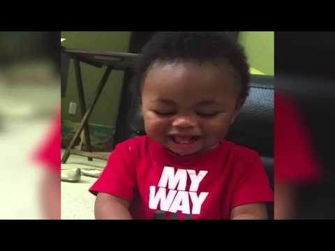 "Baby Laughs When Mom Says ""Donkey"""