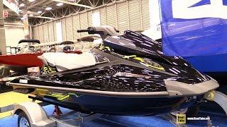 9. 2015 Yamaha Wave Runner VX Deluxe Jet Ski - Walkaround - 2015 Quebec Boat Show