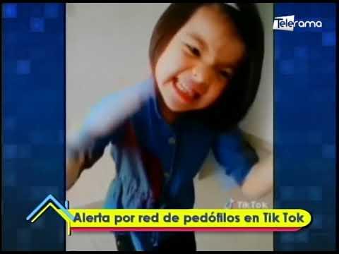Alerta por red de pedófilos en Tik Tok
