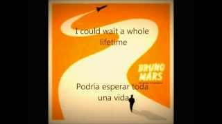 The other side by Bruno Mars (lyrics inglés & español)